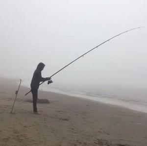 Effectief vissen vanaf het strand