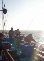 Dagje bootvissen met nieuwe hengel