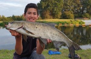 Vissen op roofblei in de IJssel