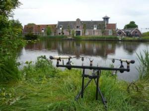 Karpervissen op de Amstel