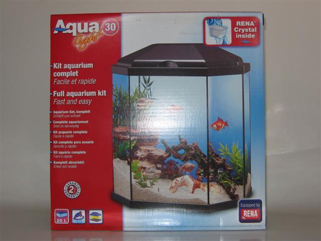 Aquarium rena 30 light complete set hengelsport w van for Aquarium rena